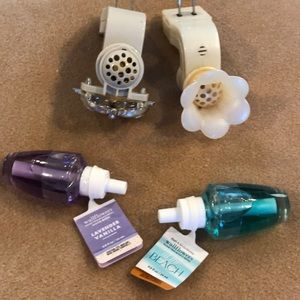 Bath and body plug-ins and wallflowers
